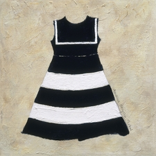 Nautical Girl I - Stripe Dress