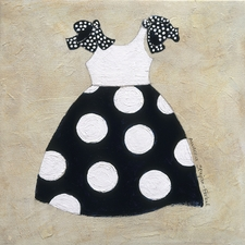 Nautical Girl III - Polka Dots