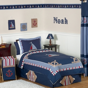 Nautical Nights Kids Bedding Collection
