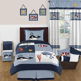 Ocean Blue Kids Bedding Collection