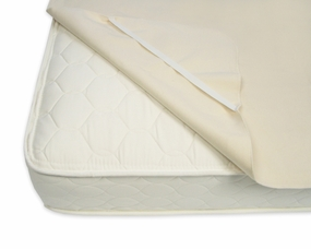 Organic Cotton Waterproof Mattress Protector with Straps