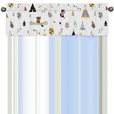 Outdoor Adventure Window Valance