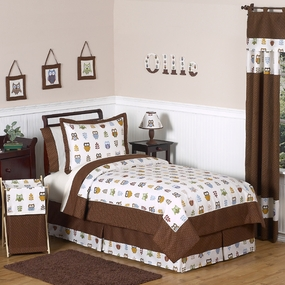 Owl Kids Bedding Collection