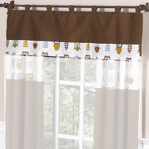 Owl Window Valance