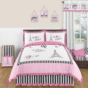 Paris Kids Bedding Collection
