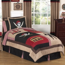 Pirate Treasure Cove Comforter Set