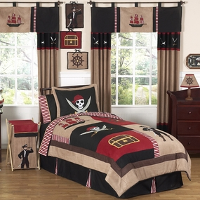 Pirate Treasure Cove Kids Bedding Collection