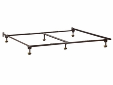 Premium Twin/Twin XL/Full/Queen/King/Cal King Metal Bed Frame with Rug Rollers