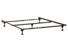 Premium Twin/Twin XL/Full/Queen Metal Bed Frame with Rug Rollers