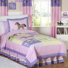 Pretty Pony Comforter Set