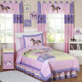 Pretty Pony Kids Bedding Collection