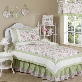 Riley's Roses Kids Bedding Collection