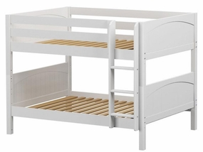 Slurp Full/Full LOW Bunk Bed with Straight Ladder