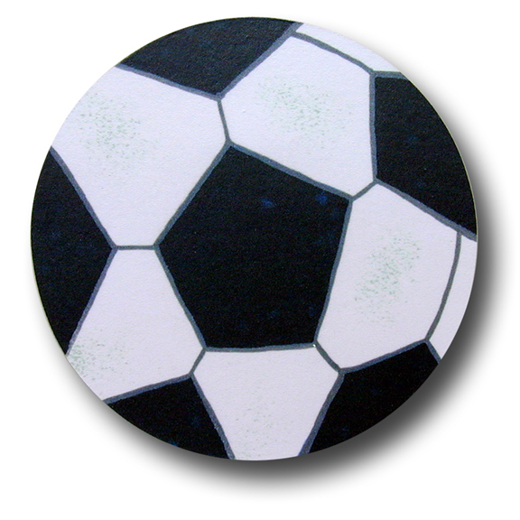 Soccer Drawer Pull