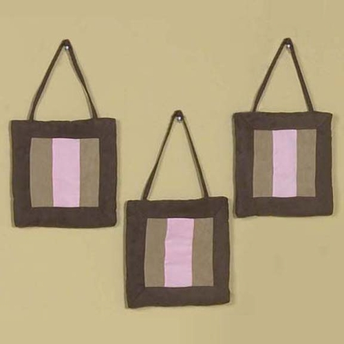 Soho Pink Wall Hangings (Set of 3)