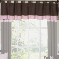 Soho Pink Window Valance