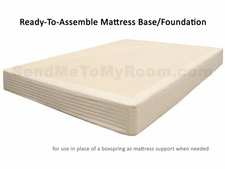 Solid Wood Mattress Foundation