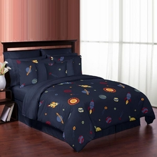 Space Galaxy Comforter Set