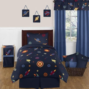 Space Galaxy Kids Bedding Collection