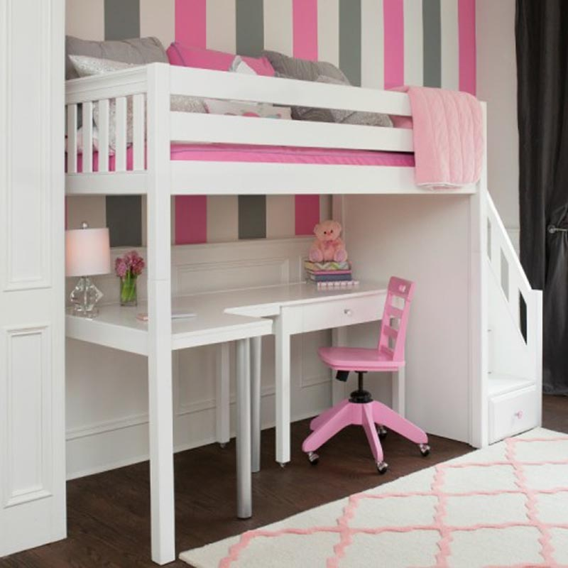 Image Result For Maxtrix Star High Loft Bed With Stairs
