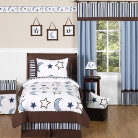 Starry Night Kids Bedding Collection