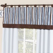 Starry Night Window Valance