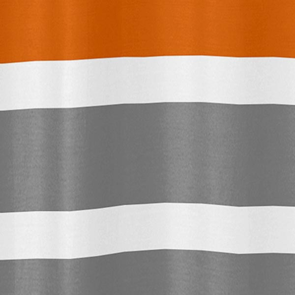 Curtains Ideas gray and orange shower curtain : +Gray+Curtains ... Jojo Designs Stripe Gray and Orange Shower Curtain ...