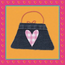 Tres Chic Check Purse