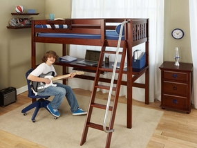 Maxtrix Twin Size High Loft Beds
