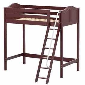 ULTRA Knockout Twin High Loft Bed with Angled Ladder