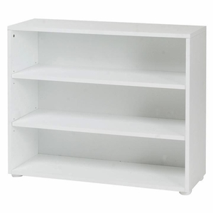 White 3 Shelf Bookcase
