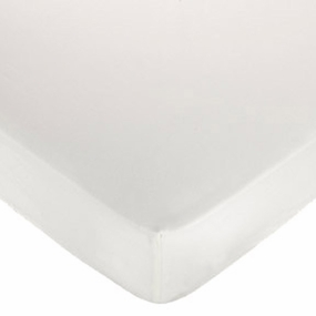 White Fitted Crib Sheet