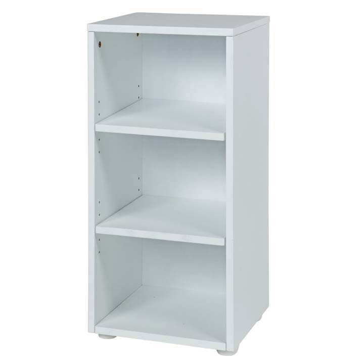 3 Shelf Bookcase White Roselawnlutheran
