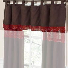Wild West Cowboy Window Valance