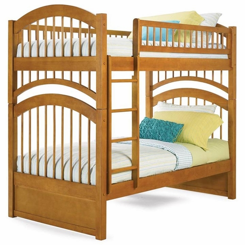 Windsor Twin/Twin Bunk Bed in Caramel