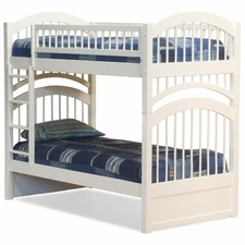 Windsor Twin/Twin Bunk Bed in White