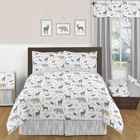 Woodland Animals Kids Bedding Collection