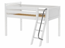 You're A Sweety Low Loft Bed with Medium/Low Bed Ends