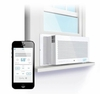 GE+ Quirky Aros Smart Window Air Conditioner  8000 btu AC
