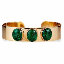 Allison Bracelet Small - Malachite