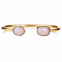 Beam Bracelet - Rose Quartz