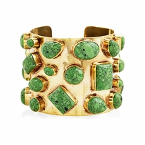Bendall Cuff - Green Turquoise