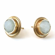 Conner Studs - Moonstone