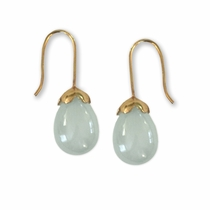 Gibson Earrings - Aqua