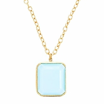 Jacobs Necklace - Chalcedony