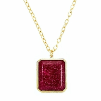 Jacobs Necklace - Ruby