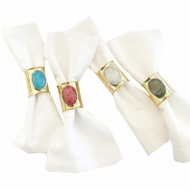 Jeweled Napkin Rings