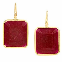 Marxen Earrings  - Ruby