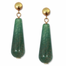 McAlister Earrings - Emerald