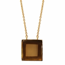 Savin Necklace - Smoky